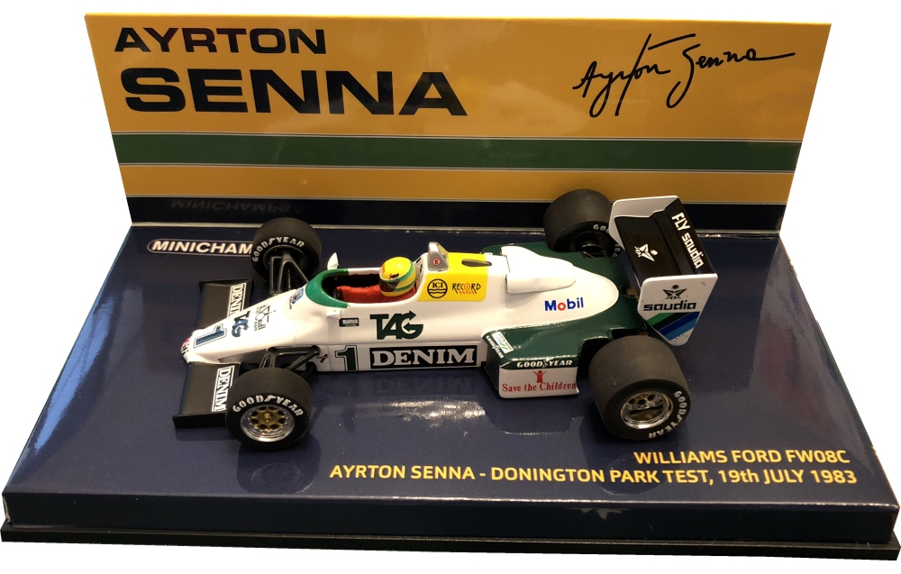 1983williams fw08c-yellow