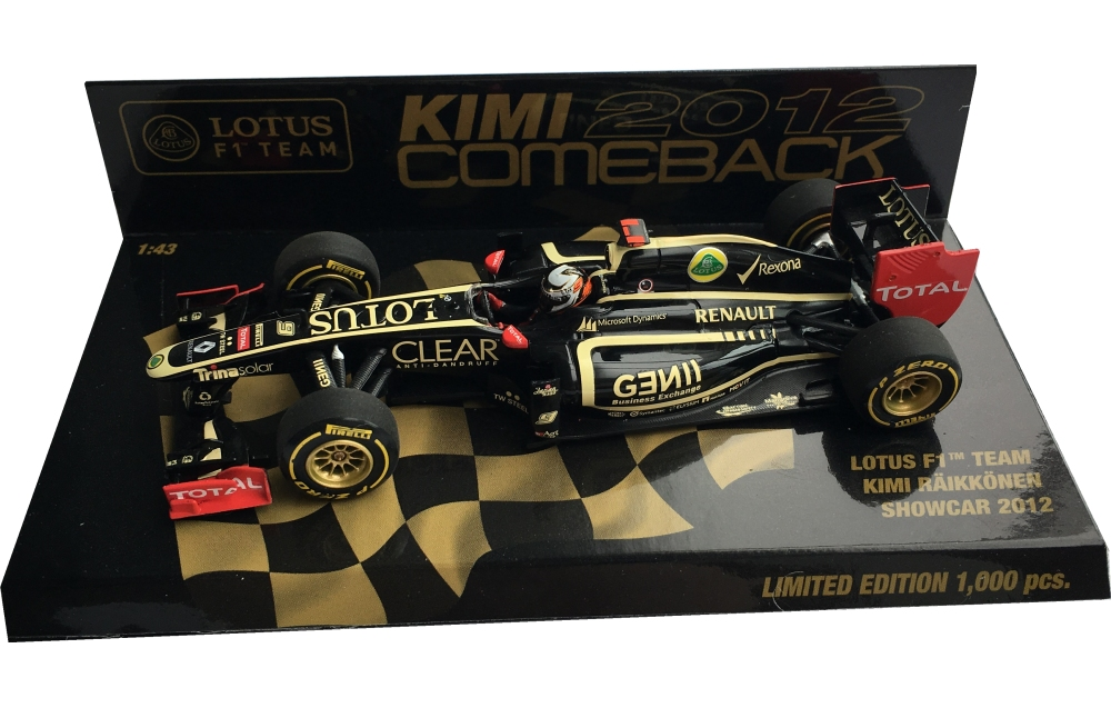 2012lotusf1showcarkimicomeback