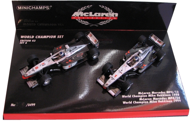 19981999mclarenmp4 13mp4 14championship