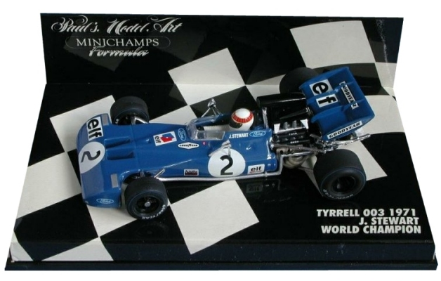 1971tyrrell003jackiestewartworldchampion