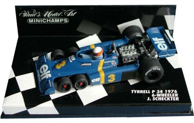 1976tyrrellp34jodyscheckter6wheeler