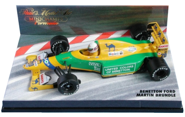 1992benettonfordb192martinbrundle